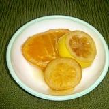 果物の蜂蜜漬け