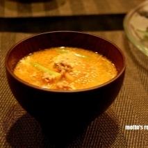 コリアン味噌スープ