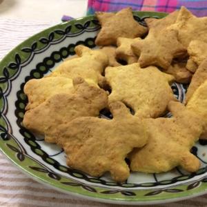 【子どもおやつ】卵なし!サクっとにんじんクッキー