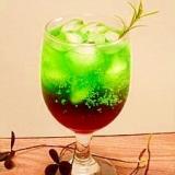 緑と赤☆二色のソーダ