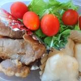 生姜焼きサラダ