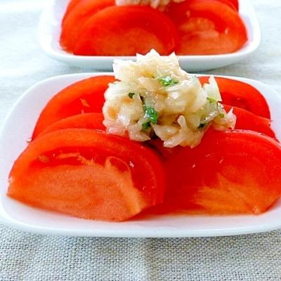 夏バテ対策にひんやりトマト料理