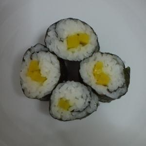 沢庵の巻き寿司