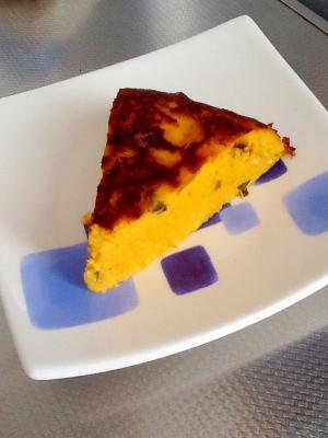 かぼちゃのチーズケーキ(炊飯器使用)