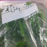 かき菜(なばな、菜の花)の下茹で&冷凍保存