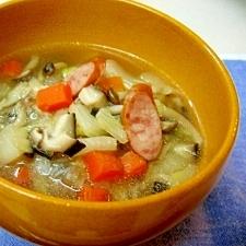 *野菜たっぷり☆コンソメスープ*