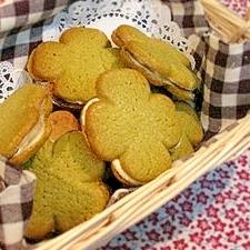 ホワイトデーに♪パンケーキミックスでクッキーサンド