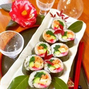 味付け鮭の巻き寿司