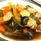 ʚ♡ɞ鶏もも肉&ナスの麺つゆ煮込みʚ♡ɞ