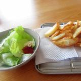 ケチャップマヨネーズとフライドポテト