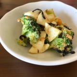 ブロッコリーとゆで卵の和風サラダ