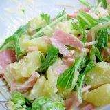水菜のポテトサラダ