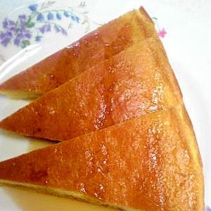 ホットケーキミックスで薄焼きスポンジケーキ