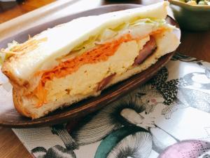 NYDeli風☆スクランブルエッグサンド