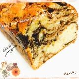 ♡簡単しっとり!マーブルパウンドケーキ♡