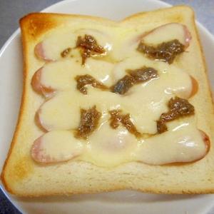 ★ウインナーとチーズのトースト☆
