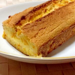 おからdeパウンドケーキ♪ミカンの皮とハチミツ生姜