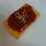 味噌ダレで豆腐のステーキ♪