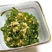 釧路産 きざみ昆布と鮭缶のあっさり煮