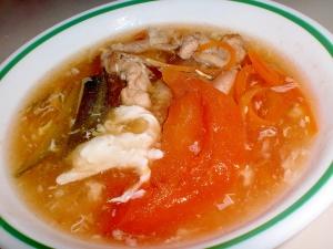 豚肉の野菜スープ