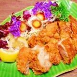 炭酸水で軟らか☆鶏の出汁塩から揚げ