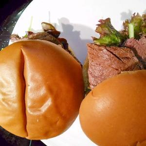 甘辛ローストビーフのサンドイッチ