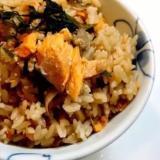 鮭と舞茸の炊き込みご飯