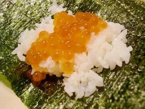 手作り塩イクラで♪手巻き寿司