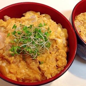 とろーり卵が美味しい☆半熟の親子丼