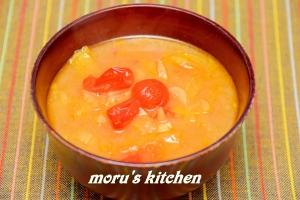 簡単で時短!トマトやセロリ入りの洋風な味噌汁☆