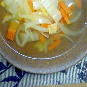 白菜のコンソメスープ