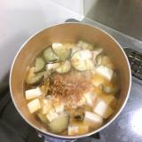 ナスとお豆腐のお味噌汁