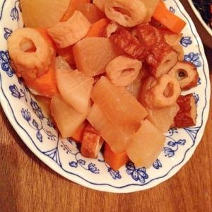 大根と人参とちくわの煮物