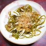 切り昆布と長芋の和え物【さっぱりポン酢!】