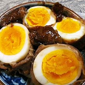 卵牛肉巻き