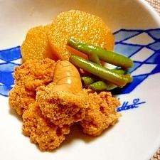 ♪♪プチプチ食感が楽しい★たらこと長芋の煮物♪♪