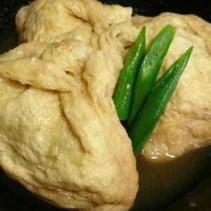 ストウブDE〜高野豆腐の柔らか巾着煮