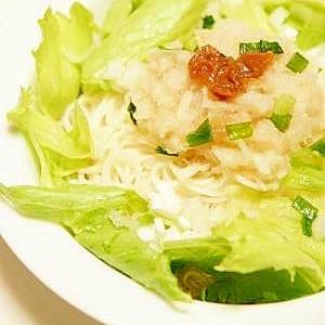 暑い日にさっぱり ★ 梅おろし素麺 ★