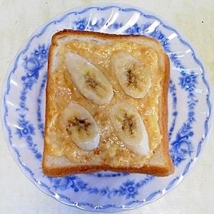 バナナプリントースト
