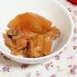 ガリを使って!手羽元と大根の甘酢生姜煮