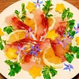 ぼら☆白身魚カルパッチョ