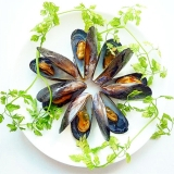 ムール貝のビネガーオイル漬け
