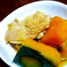 母の味、オーソドックスなかぼちゃの煮物