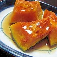 煮ていないのに煮(似)た味☆かぼちゃの煮物風