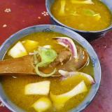 イカエリンギのタイカレースープ