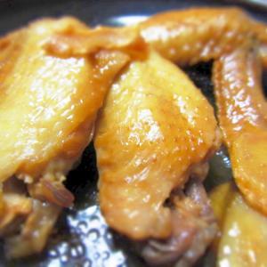 手羽先の酢甘辛煮