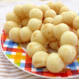 しっとりふわふわ♪お豆腐の焼きドーナツ【卵油なし】