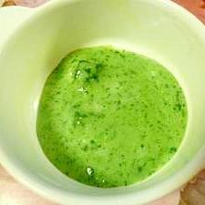 離乳食・初期!ほうれん草と小松菜のお粥