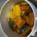 かぼちゃとしいたけの旨煮