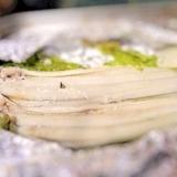 穴子の塩麹蒸し焼き